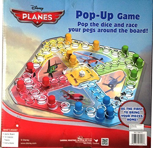 Disney Planes Pop-up Board Game