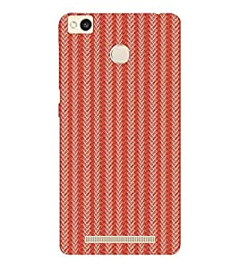 EPICCASE braided drapes Mobile Back Case Cover For Xiaomi Redmi 3S (Designer Case)