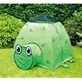 Puregadgets© Laughing Terry Frog Pop Up Tunnel and Tent Play System for Children / Kids / Boys / Girls - Easy to link, Easy to store, Hours of fun Indoor or Outdoor Garden Use