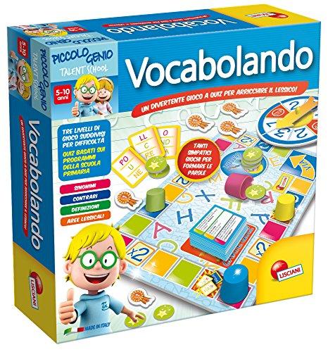 Piccolo Genio Talent School 48878 - Gioco Vocabolando