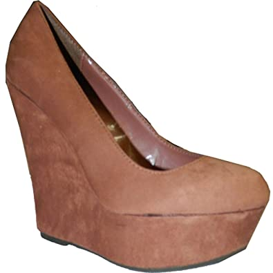 Authentic Delicious MEROZ High Platform Round Toe Wedge Shoe For Women For Sale More Collections