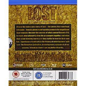 Lost Seasons 1-6 [Blu-ray] [Import anglais]