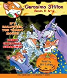 Geronimo Stilton Geronimo Stilton Books 11-12: It's Halloween, You 'Fraidy Mouse!/Merry Christmas, Geronimo! (Geronimo Stilton (2 in 1 Audio))