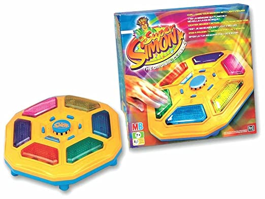 Hasbro - 570231861 - Jeu Educatif Electronique - Super Simon