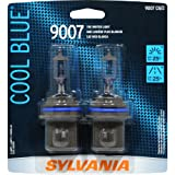 Sylvania 9007 CB Cool Blue Halogen Headlight Bulb (Low/High Beam), (Pack of 2)
