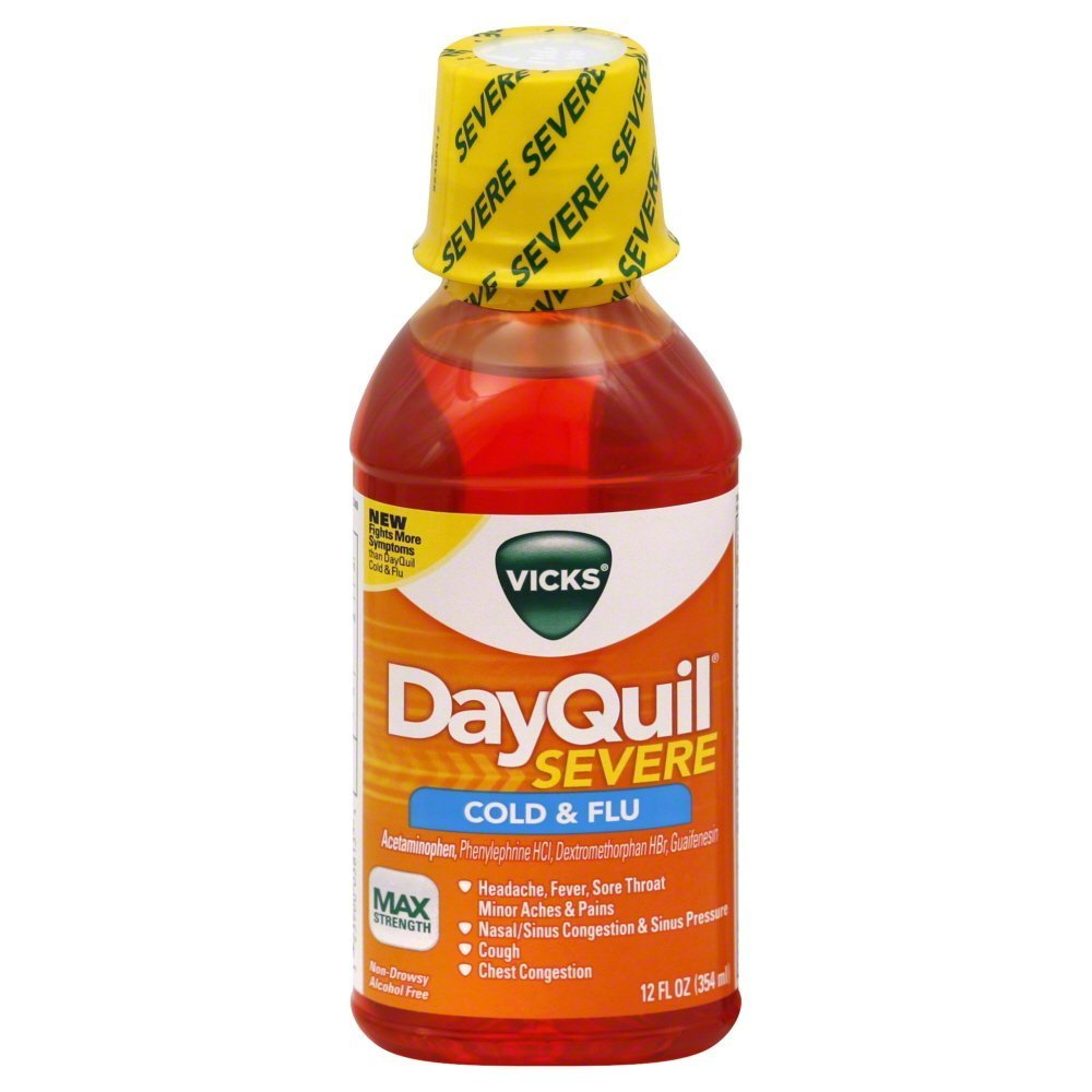 Vicks Dayquil Severe C...