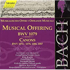 Bach, J.S.: Musical Offering, Bwv 1079