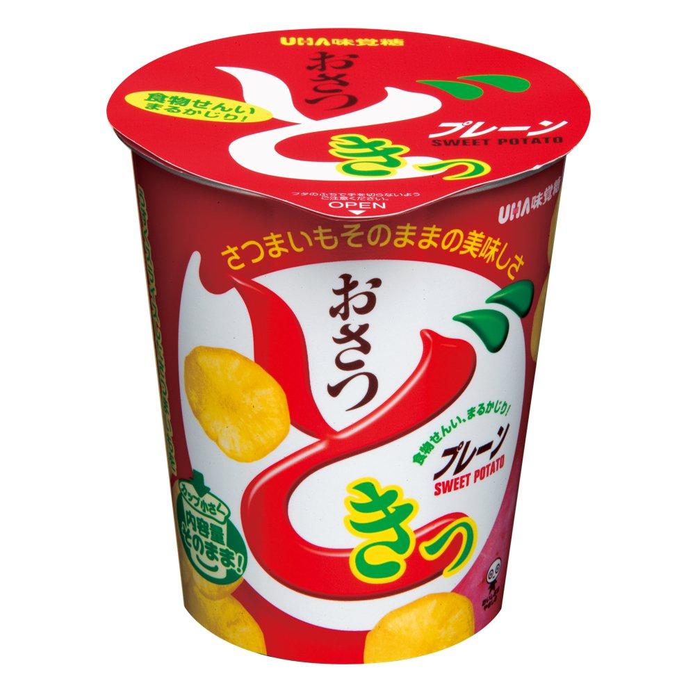 ユーハ カップ入りおさつどきっ(プレーン味) 45g×12個