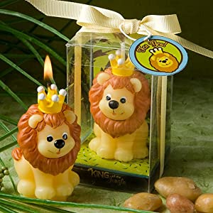 Fashioncraft Adorable King of The Jungle Collection Candle