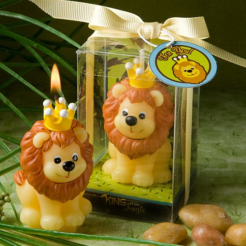 Fashioncraft Adorable King of The Jungle Collection Candle (Discontinued by Manufacturer) - 1