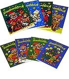 8 Zauberblöckchen im Set - Weihnachten (A8 -7,5x5,2cm) - 8 Motive - Lutz Mauder hergestellt von Lutz Mauder Verlag