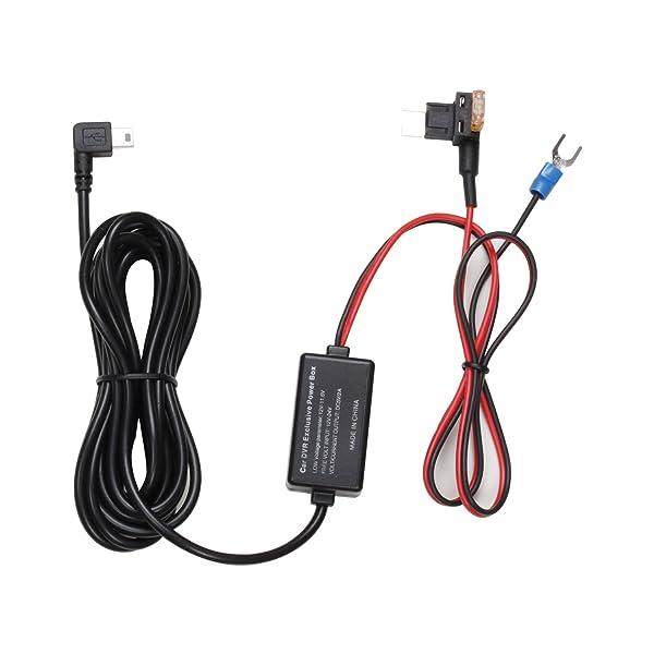 AUTO-VOX Dash Cam 2A Hardwire Kit Mini Fuse Adapter Kit