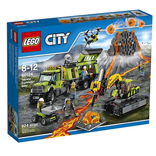 lego-city-volcano-explorers-60124-volcano-exploration-base-building-kit-824-piece