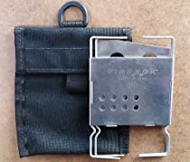 "Firebox 3"" Nano Campfire Stove + D-Ring Cordura Case"