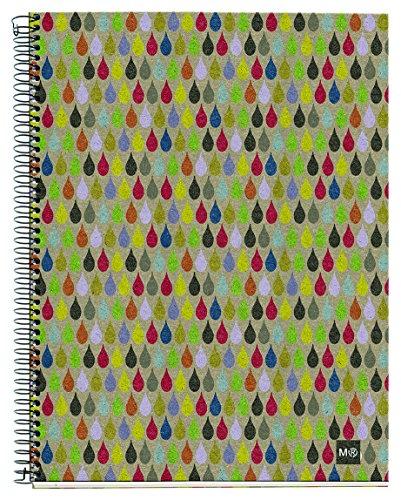 basicos-mr-2744-notizbuch-4-farben-a5-120-blatt-kariert-ecorain-recycling