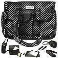 Designer Baby Diaper Nappy Changing Bag, 8PC Set Costanzo Enrico Milano from Costanzo Enrico ®