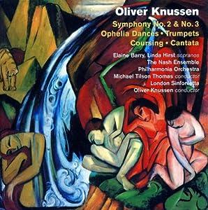 Knussen : Symphonies n° 2 & 3. Tilson Thomas.