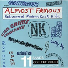 Almost Famous - Undiscovered Modern Rock Hits