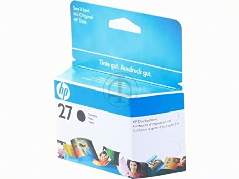 HP - Hewlett Packard DeskJet 3320 V (27 / C 8727 AE) - original - Printhead black - 280 Pages - 10ml