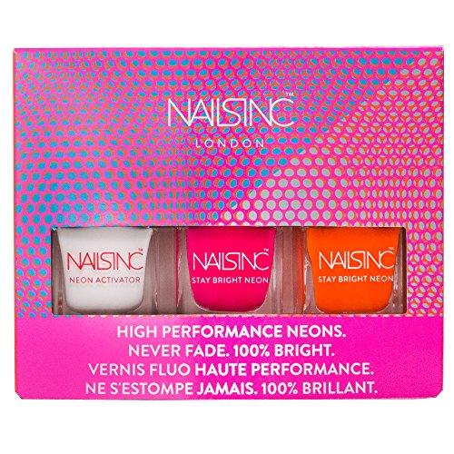 Neon Nails Inc-smalto, collezione Trio, confezione da 3