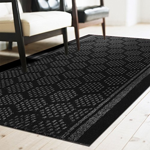 tapis de couloir casa pura bilbao anthracite feutre. Black Bedroom Furniture Sets. Home Design Ideas