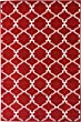 Sweet Home Stores Clifton Collection Red Moroccan Trellis Design (7\'10\