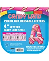 Eureka Candy Land Pepper Stripes Deco Letters