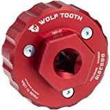 Wolf Tooth Components Bottom Bracket Tool Red, 16 Notch 39MM (Color: Red, Tamaño: 16 Notch 39MM)