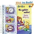 ministeps® Bücher: Was gehört wohin?: Mein großes Spielbuch mit 22 Magnetteilen. Ab 24 Monaten