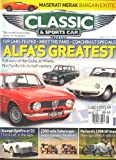 img - for Classic & Sports Car (August 2012,Alfa`s Greatest, Volume 31 # 5) book / textbook / text book