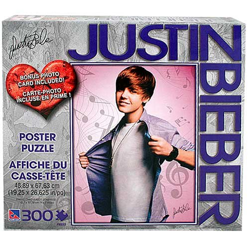 Buy Low Price Justin Bieber Justin Bieber Poster Puzzle 300 - justin bieber puzzle jigsaw