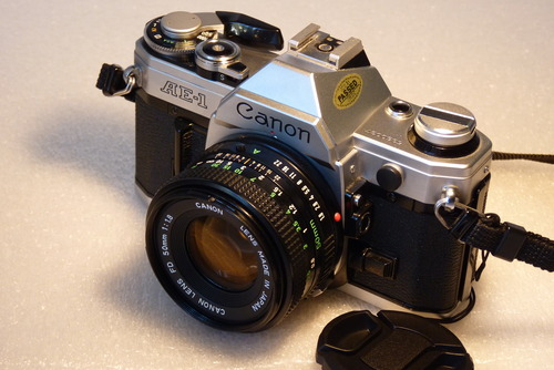 Learn More About Canon AE-1 35mm SLR Manual Focus Camera w/ FD 50mm lens