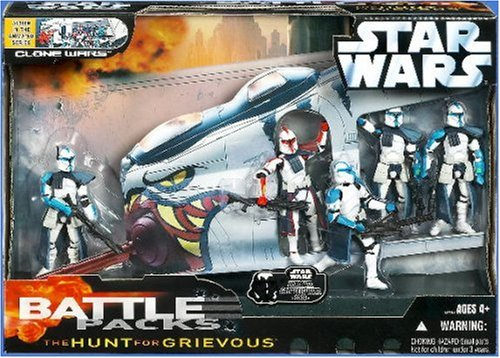 Star Wars Saga Collection The Hunt for Grievous Battle Pack