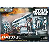 Star Wars Battle Pack: The Hunt for Grievous Action Figures ~ Star Wars
