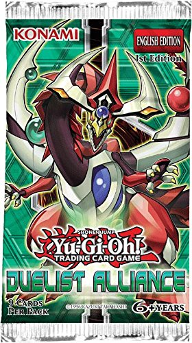 Yu-Gi-Oh! Duelist Alliance Booster Pack - 1