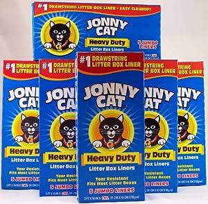 Amazon Com Jonny Cat Cat Litter Box Liners 5 Box Pack