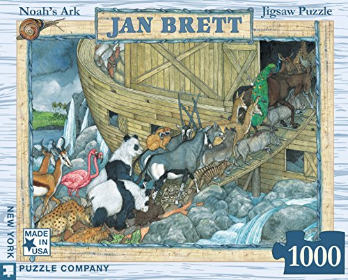 New York Puzzle Company - Jan Brett Noah