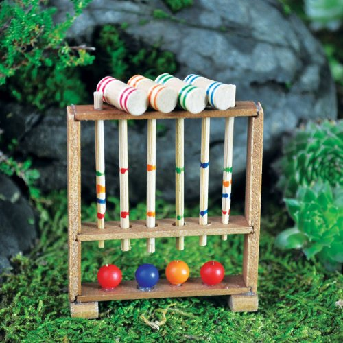 Fairy Garden Miniature Croquet Set