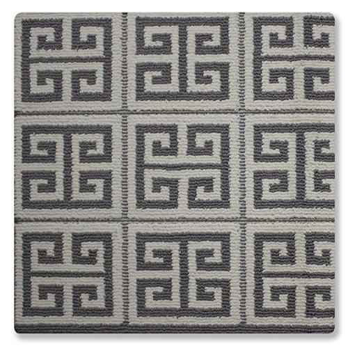Jean Pierre Greek Key Textured Decorative Accent Rug, 28 x 48