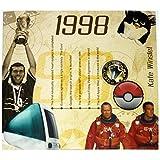 RetroCo 1998 Geburtstags-Geschenke - 1998 Chart Hits Compilation CD und
