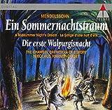 メンデルスゾーン:夏の夜の夢,最初のワルプルギスの夜