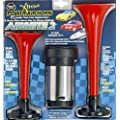 Wolo (400) Airmite 2 Power Air Horn - 12 Volt, Low and High Tone