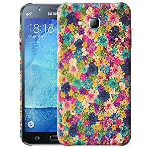 Theskinmantra Flower grunge back cover for Samsung Galaxy J7