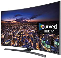 Samsung Series 6 JU6500 55-Inch Widescreen Ultra HD Smart Curved LED Television with Freeview HD