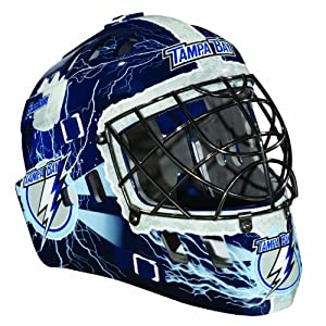 Franklin Sports NHL Tampa Bay Lightning SX Comp GFM 100 Goalie Face Mask