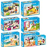 Playmobil city life set 5567 5568 5569 5570 5571 5572 for Salle a manger playmobil city life