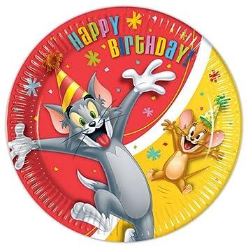 8 pappteller tom jerry happy birthday us9 8 pappteller tom jerry happy birthday fandeluxe Gallery