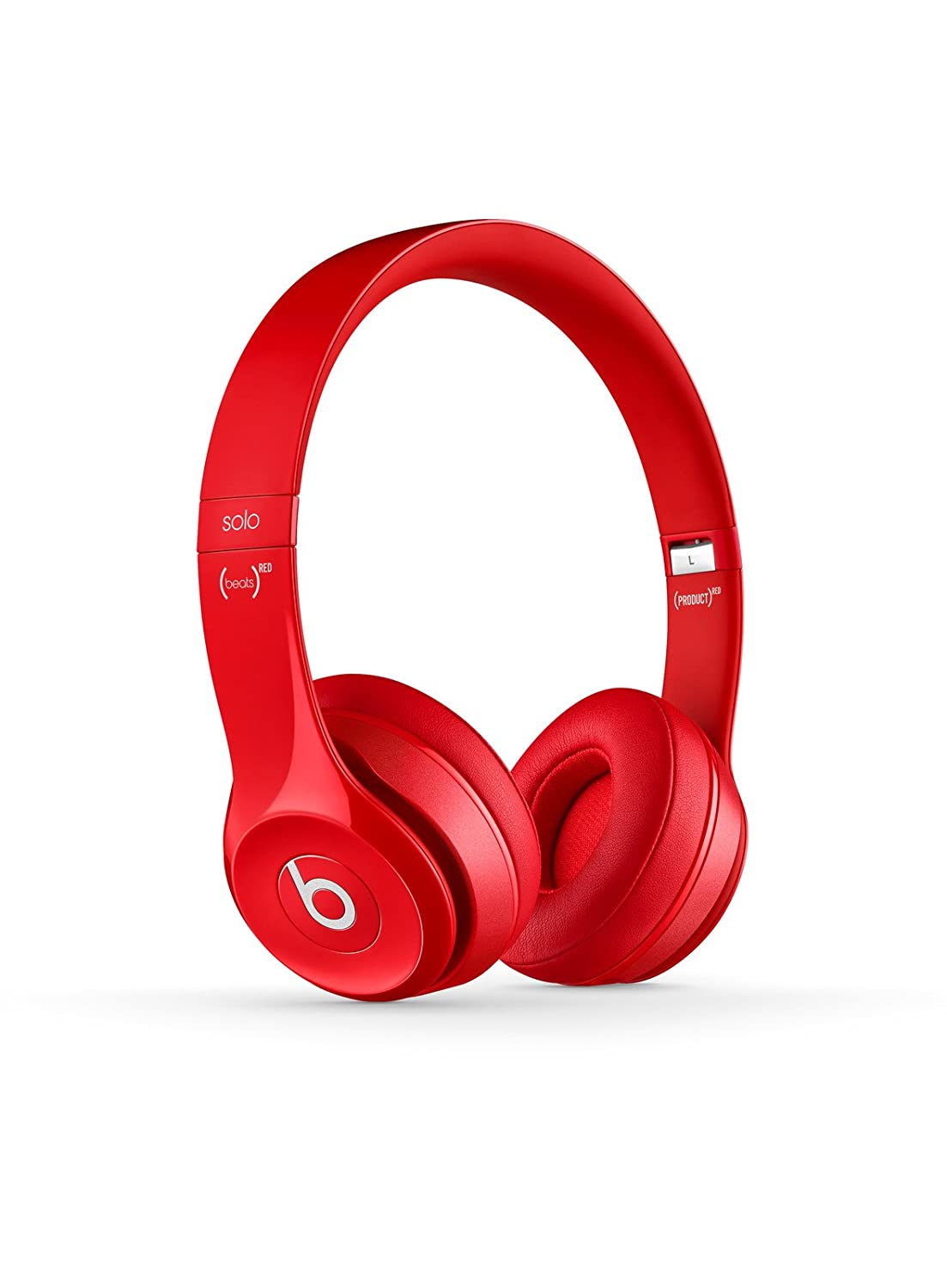 Beats Solo2 Wired On-Ear Headphones - Red