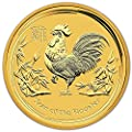 2017 AU Australia Gold Lunar Year of the Rooster (10 oz) $1000 Brilliant Uncirculated Perth Mint