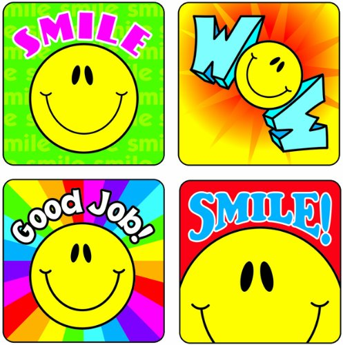 Carson Dellosa Smiley Faces Motivational Stickers (168091)